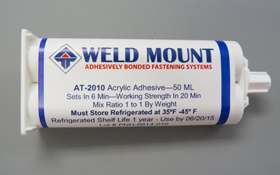 Tube of 2010 Acrylic Adhesive