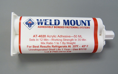Tube of 4020 Acrylic Adhesive