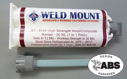 Tube of 8040 No Slide Metal Composite Bonder